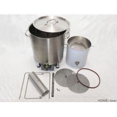 Домашняя автоматическая пивоварня 50 с нижним сливом на 30 литров (Версия 2.0 HOMEr 50)