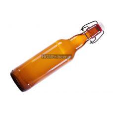 Бутылка стеклянная с бугельной пробкой 500мл Купить