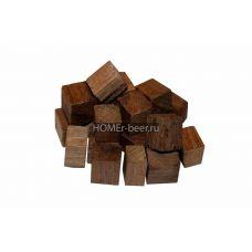 Дубовые кубики средней обжарки 100 г (Кавказский скальный)