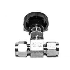 Нержавеющий обжимной кран игольчатый 8 мм